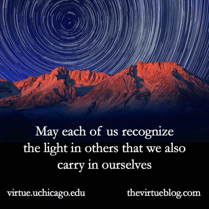 May each of us recognize the light graphic.vhml