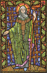 Picture-of-Saint-Brigid-of-Ireland