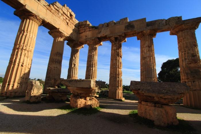 selinute antica civilt greca sito archeologico trapani sicilia