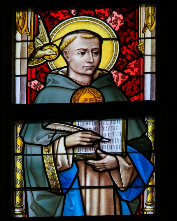 Stained Glass - Saint Thomas Aquinas